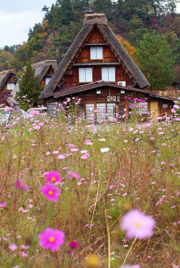 Download Het Historische Dorp Shirakawa-gaat Stock Foto - Afbeelding: 23210566