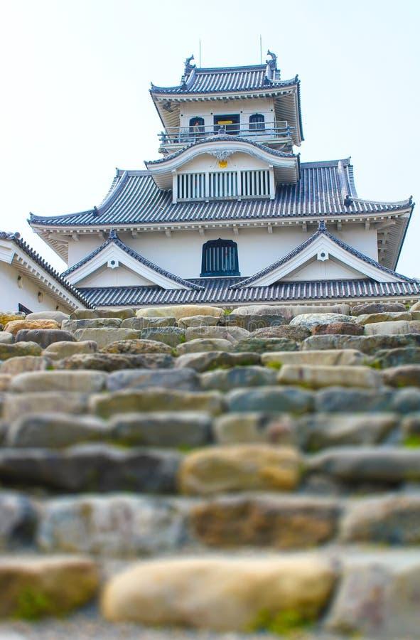 Het Historische Museum van het Nagahamakasteel, Japan stock foto's