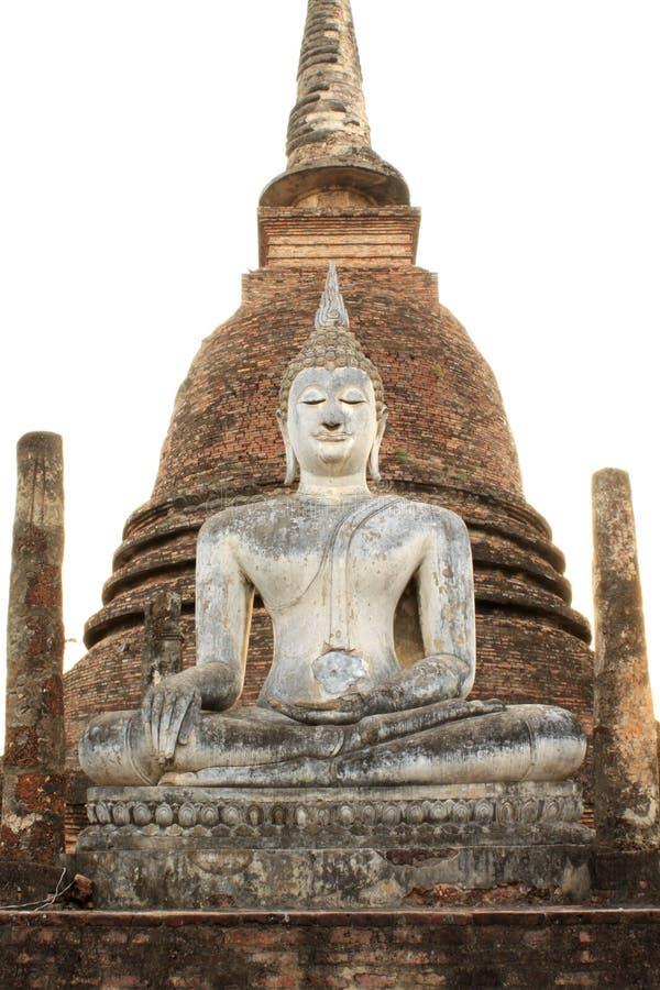 Het historische park van Sukhothai royalty-vrije stock fotografie