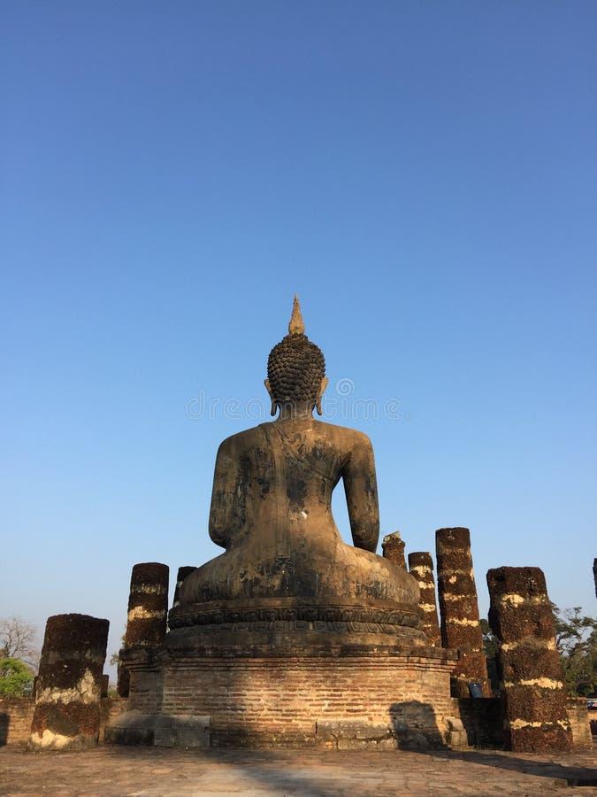 Het historische park van Sukhothai royalty-vrije stock foto's