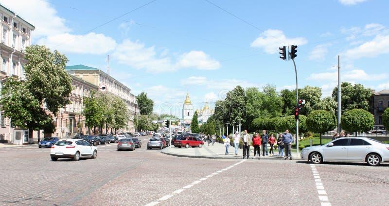 Het historische stadscentrum royalty-vrije stock foto's