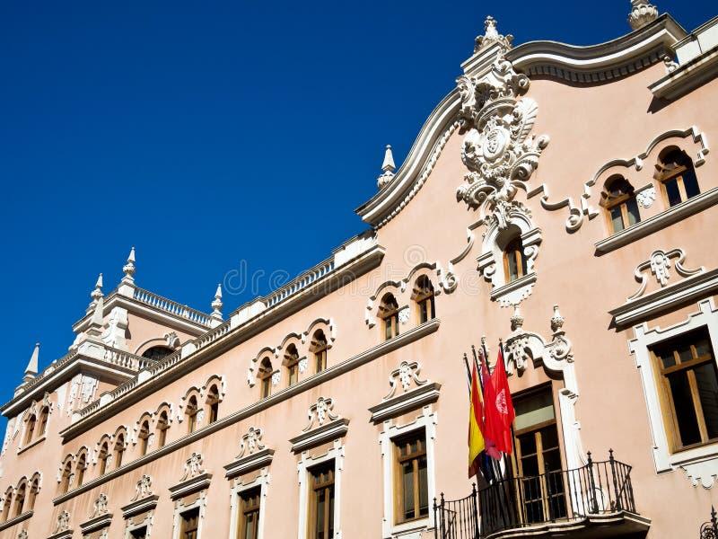 Universiteit van Murcia, Spanje royalty-vrije stock afbeelding