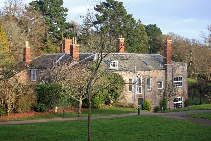 Het Hof van Cockington stock afbeelding