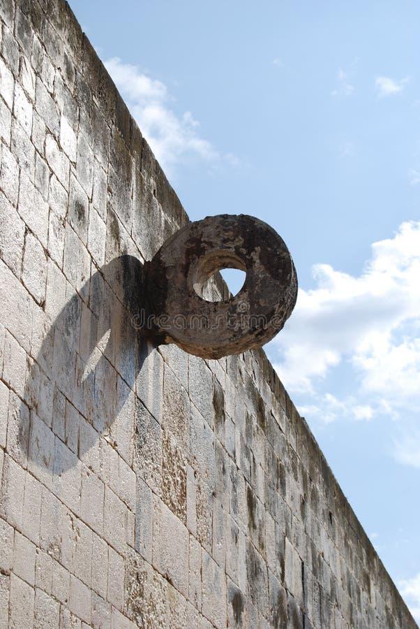Het Hof van de Bal van Itza van Chichen royalty-vrije stock foto