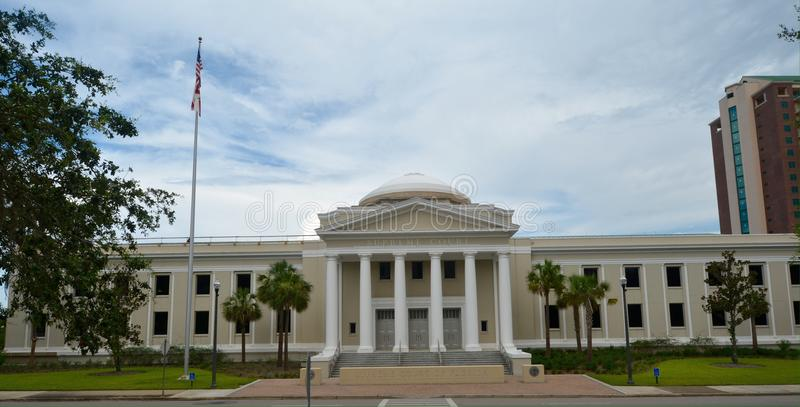 Het Hof van Florida Supeme de Bouw stock foto's