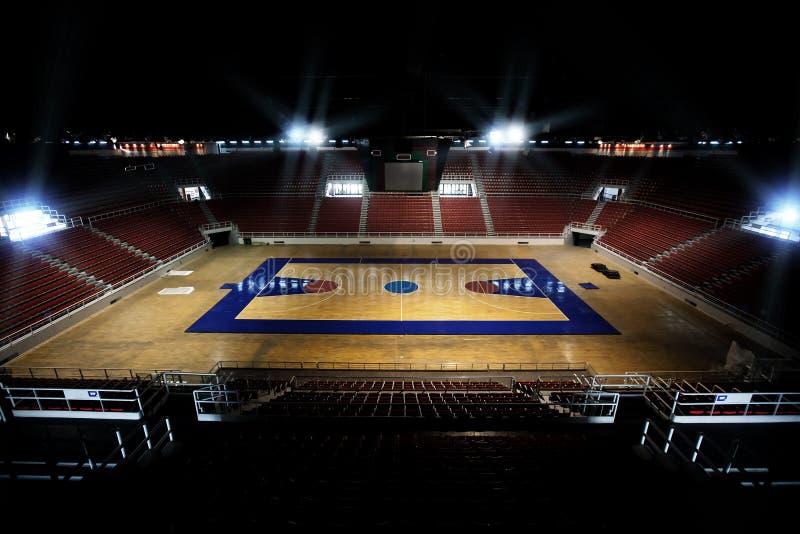 Het Hof van het basketbal stock afbeeldingen