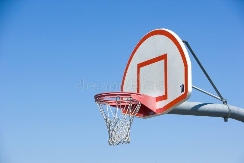 Het hof van het basketbal royalty-vrije stock foto