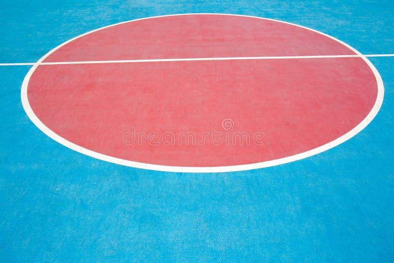 Het hof van het close-upbasketbal royalty-vrije stock afbeelding