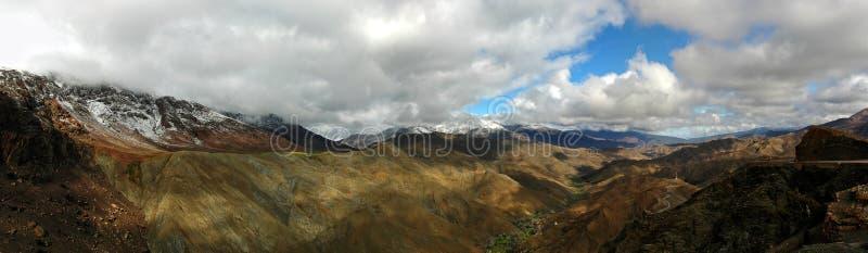 Het hoge panorama van de Atlas royalty-vrije stock foto's