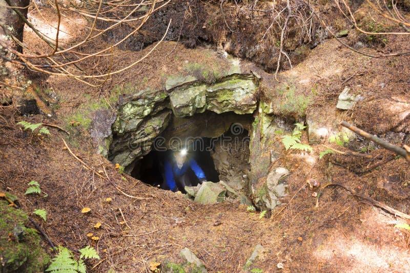 Het hol is een element van de Bescherming van de Lijn van Arpad stock afbeeldingen