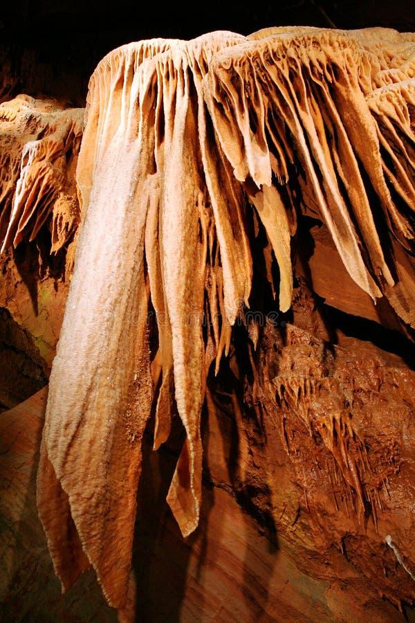 Het Hol van de stalactiet stock afbeeldingen