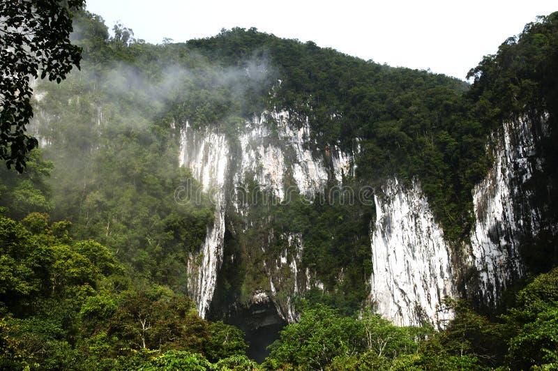 Het hol van Gunungmulu - Maleisië royalty-vrije stock afbeeldingen