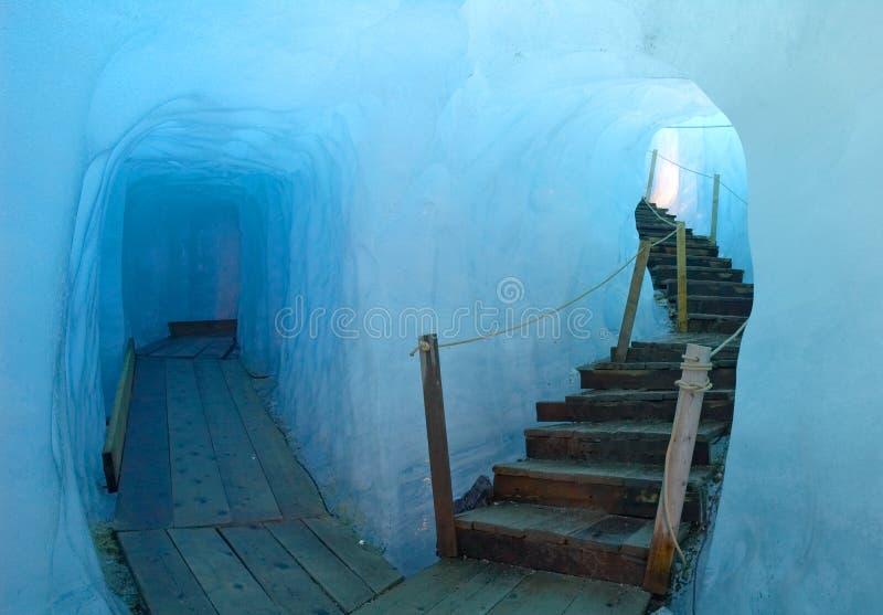 Het hol van het ijs stock fotografie