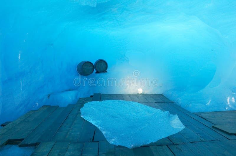 Het hol van het ijs royalty-vrije stock foto