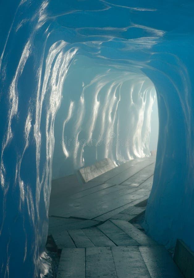 Het hol van het ijs royalty-vrije stock fotografie