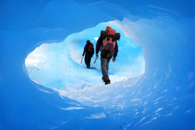 Het hol van het ijs