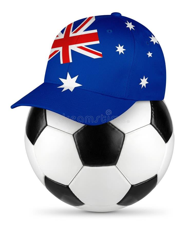 Het honkbal GLB van Australië van de voetbalbal stock foto's