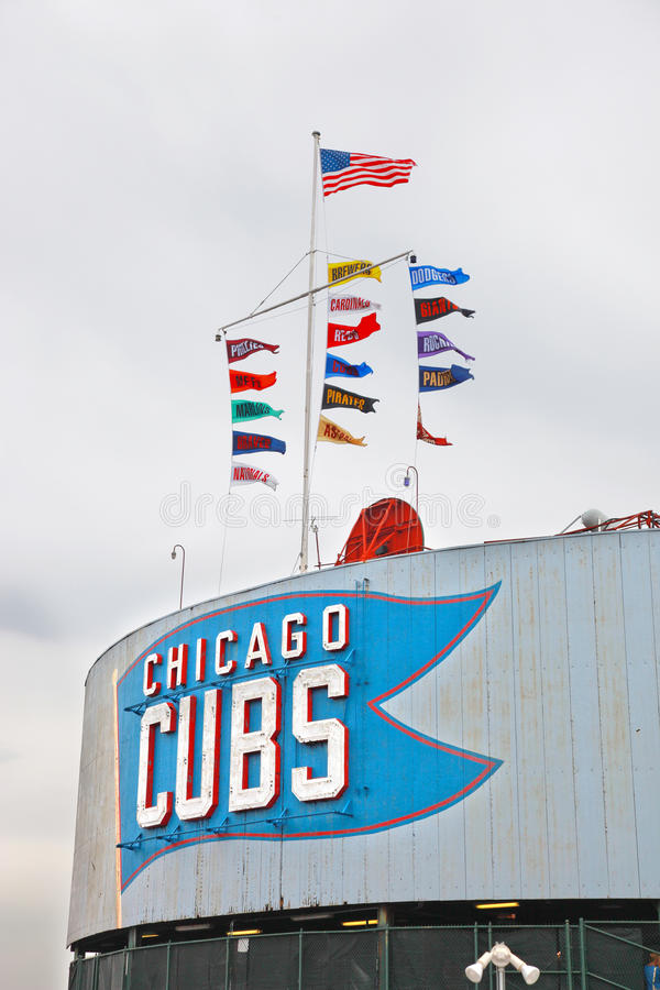 Het honkbal van Chicago royalty-vrije stock foto