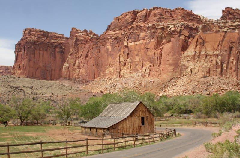 Het hoofd Nationale Park van de Ertsader, Utah, stock fotografie