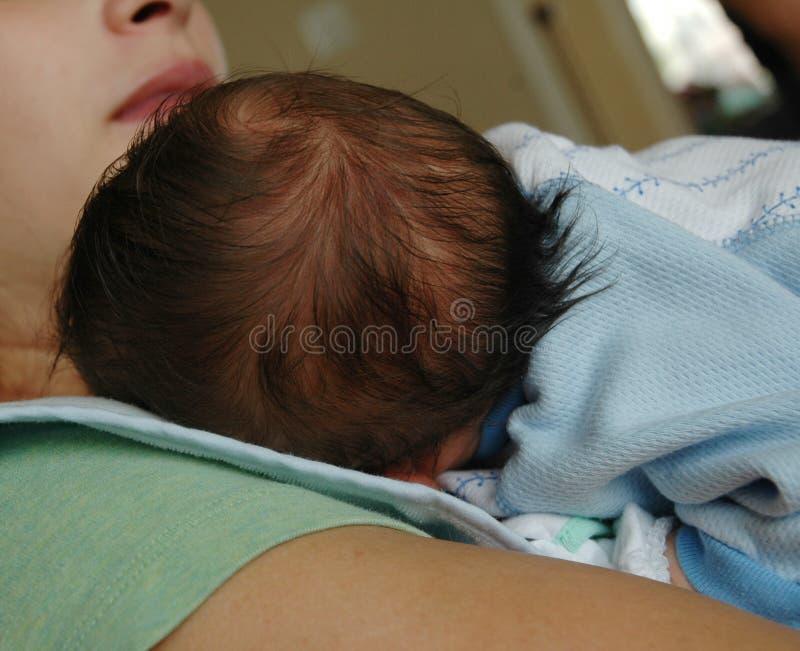 Het hoofd van babys stock afbeeldingen