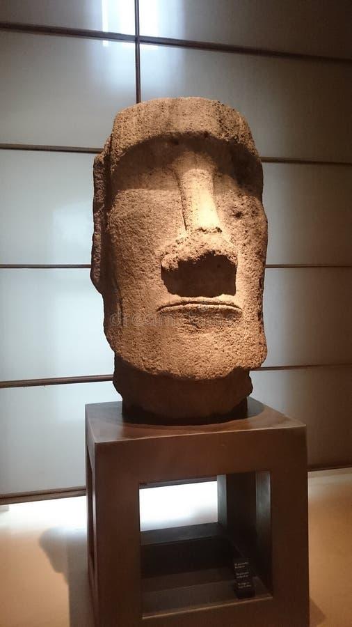 Het hoofd van Ben Stillers Night bij het museum stock afbeelding