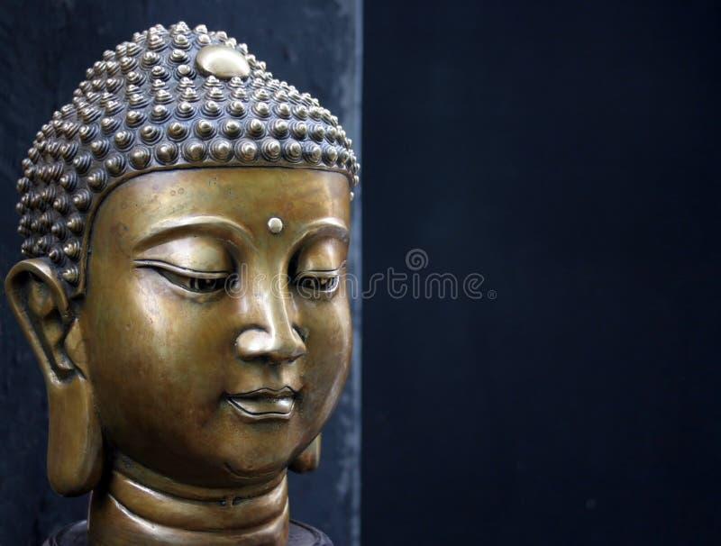 Het hoofd van Boedha royalty-vrije stock afbeelding