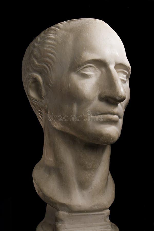 Het hoofd van Caesar royalty-vrije stock afbeeldingen