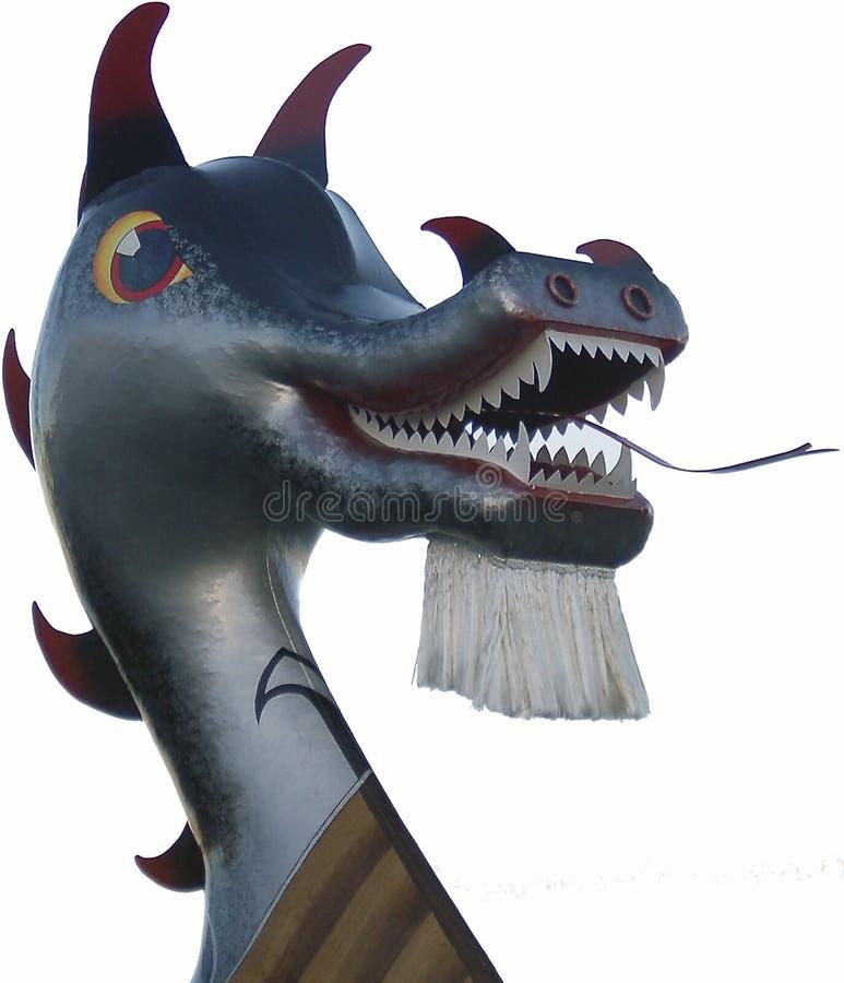 Het hoofd van de draak stock fotografie