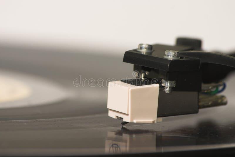 Het hoofd van de grammofoon royalty-vrije stock foto