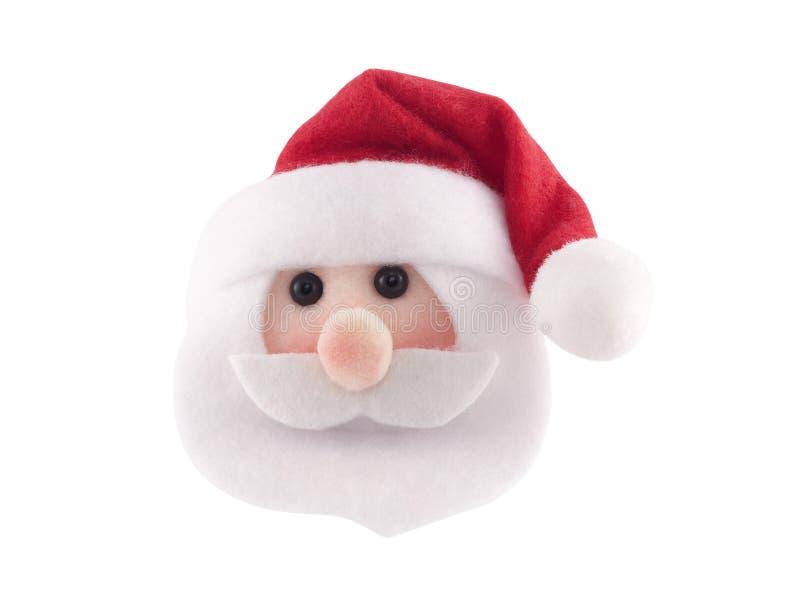 Het hoofd van de Kerstman royalty-vrije stock afbeelding