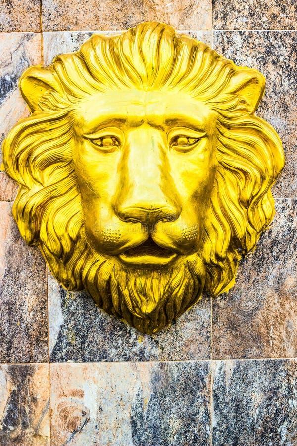 Het Hoofd van de leeuw royalty-vrije stock afbeeldingen