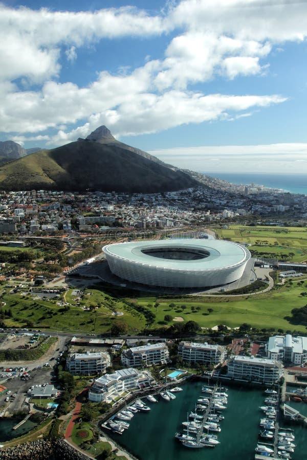 Het Hoofd van de leeuw, Cape Town stock afbeelding