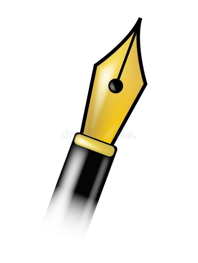 Het hoofd van de pen