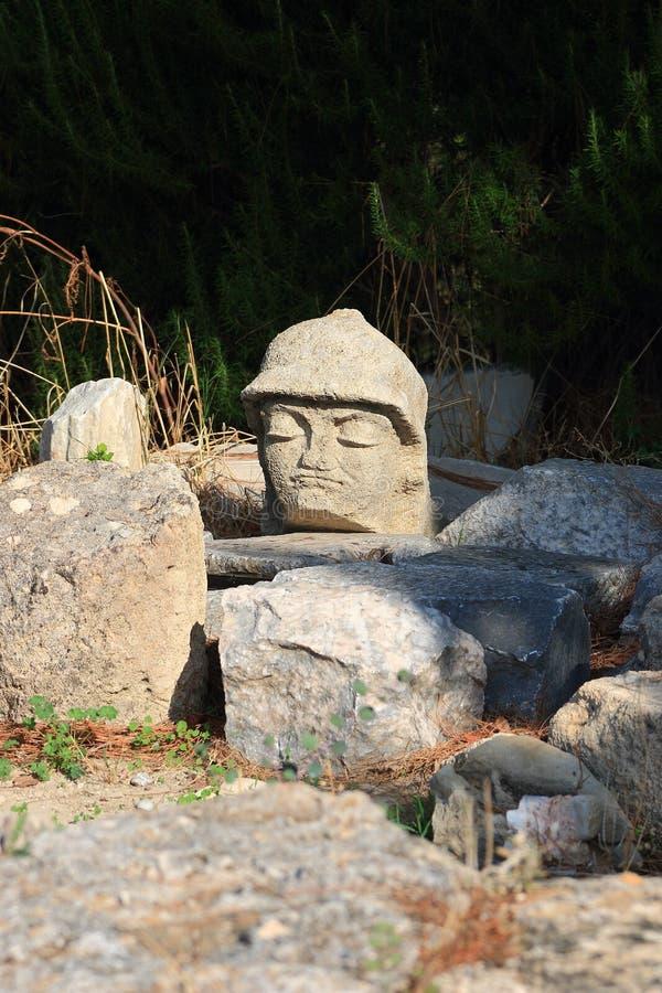 Het hoofd van de steen royalty-vrije stock foto