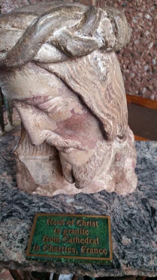 Het hoofd van Jesus stock foto