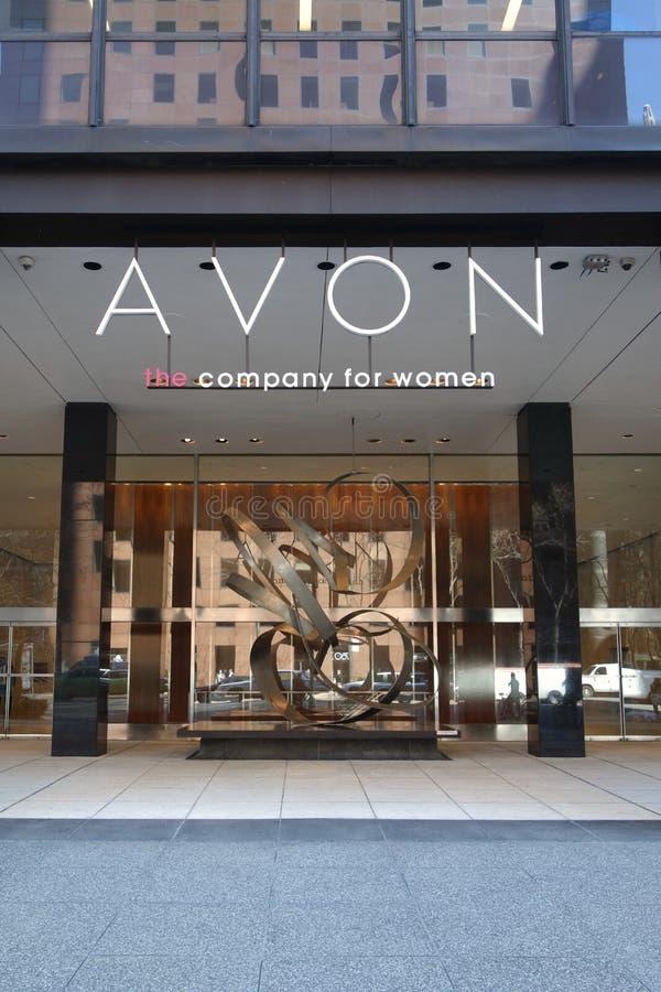 Het Hoofdkwartier van Avon royalty-vrije stock fotografie