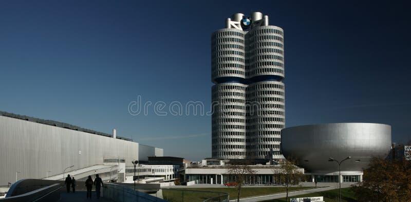 Het Hoofdkwartier van BMW stock afbeelding