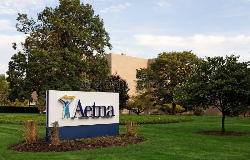 Het Hoofdkwartier van de Wereld van Aetna stock foto's
