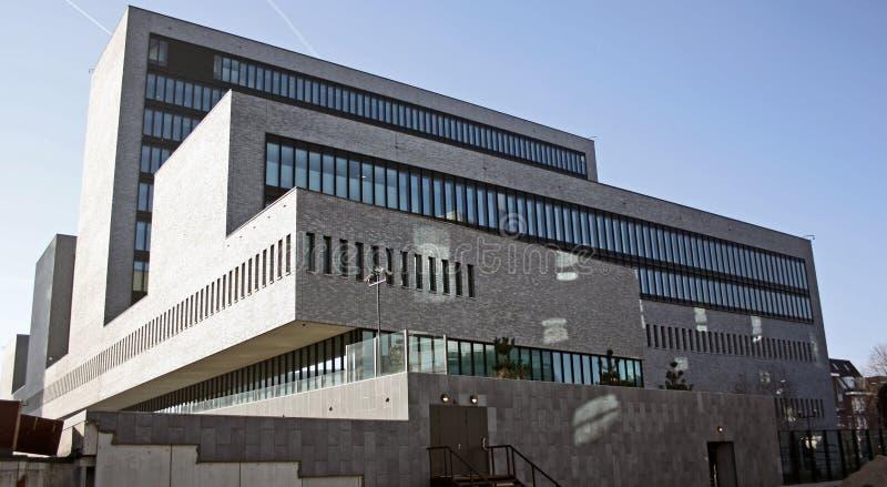 Het hoofdkwartier van EUROPOL in Den Haag, Nederland royalty-vrije stock foto's