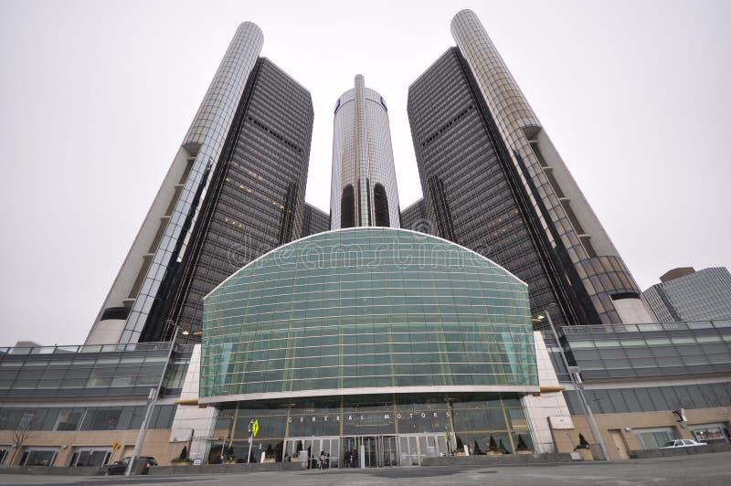 Het Hoofdkwartier van General Motors royalty-vrije stock afbeelding