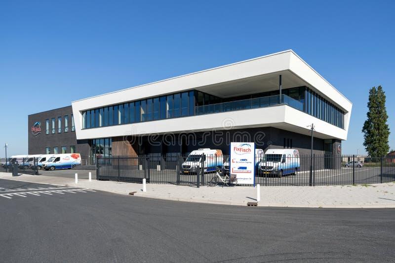 Het hoofdkwartier van moeilijke situatiefisch in Rijnsburg, Nederland royalty-vrije stock afbeeldingen