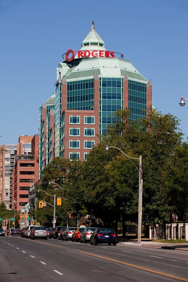 Het Hoofdkwartier van Rogers in Toronto royalty-vrije stock foto