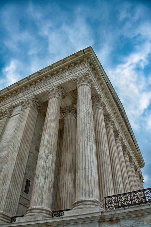 Het Hooggerechtshof van de V S Opperst hof royalty-vrije stock afbeeldingen