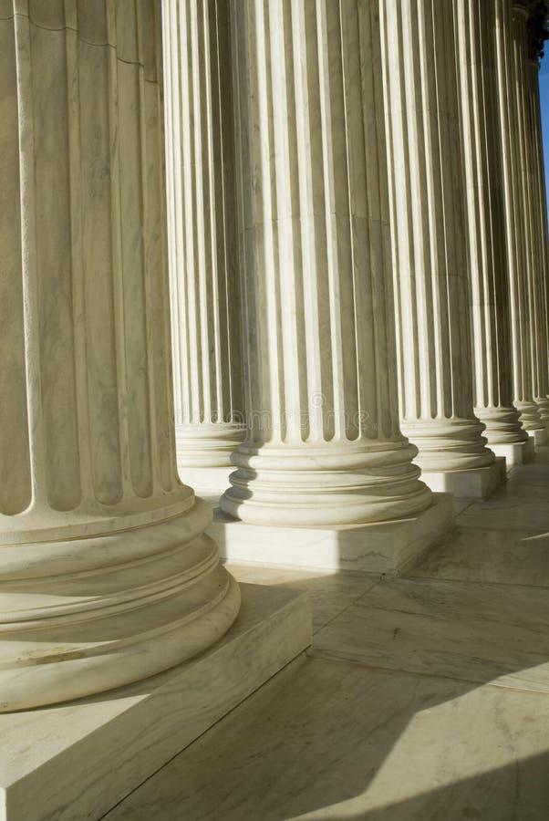 Het Hooggerechtshof van de V.S. in Washington DC royalty-vrije stock foto