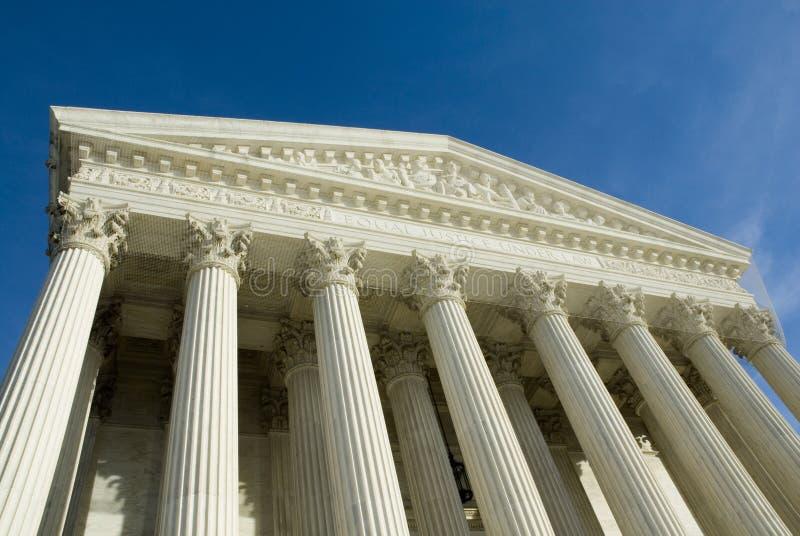 Het Hooggerechtshof van de V.S. in Washington DC royalty-vrije stock foto's