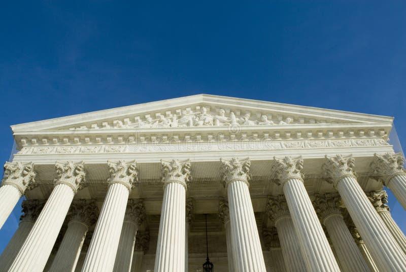 Het Hooggerechtshof van de V.S. in Washington DC royalty-vrije stock afbeeldingen