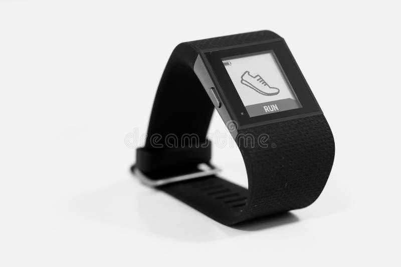 Het Horloge van de geschiktheidsdrijver stock foto's