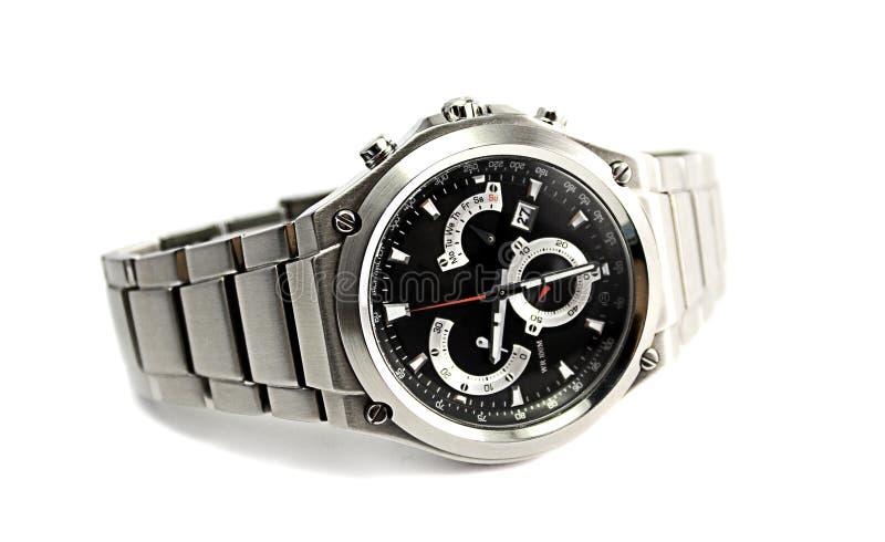 Het Horloge van de sport stock afbeelding