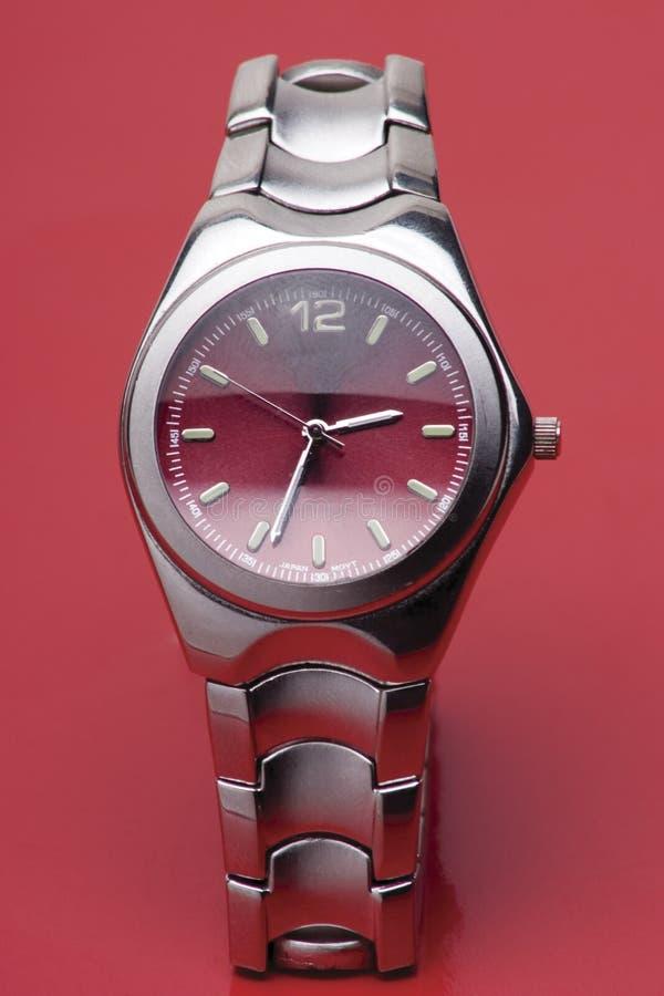 Het horloge van de sport royalty-vrije stock foto