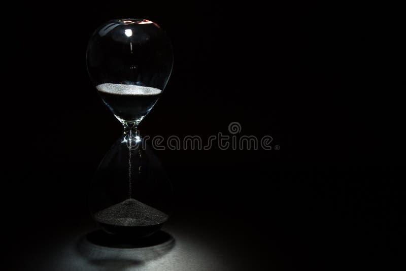 Het horloge van het zand royalty-vrije stock foto's